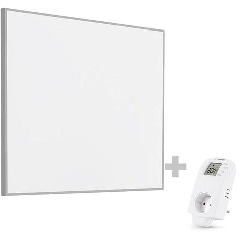 TROTEC Panel calefactor infrarrojo TIH 400 S + Enchufe-Termostato BN30