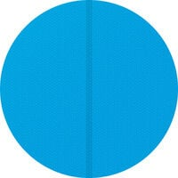 Cubierta solar para piscina redonda - lona para cubrir piscinas, cubre piscinas flotante para cortar a medida, cobertor solar ligero para piscina - Ø 250 cm - azul