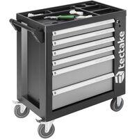 Carro de herramientas con herramientas 1399 piezas - gris