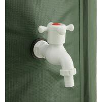 Depósito plegable para agua de lluvia - 380 L - verde