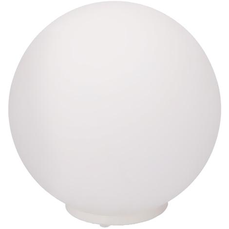 Lampada Sfera Da Tavolo Luce A Led 16 Colori Selezionabili Con Telecomando 20cm