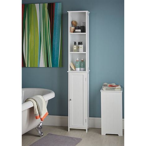 Slimline Tall Bathroom Storage Cabinet, Tall Bathroom Storage Cabinets