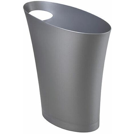 Skinny Bin - Glossy Silver