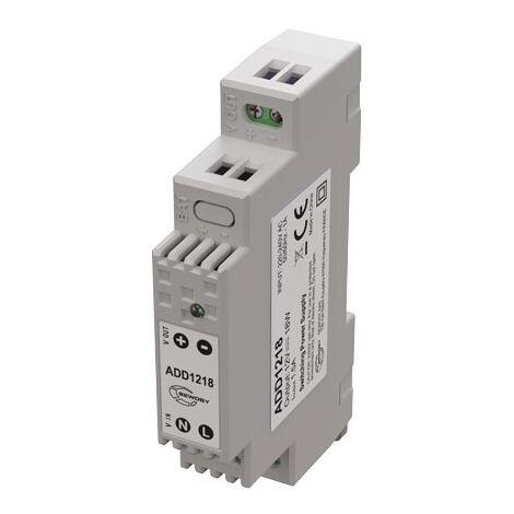 ADD1218 ALIMENTATION SUR RAIL DIN 1 module SEWOSY 12V - SEWOSY