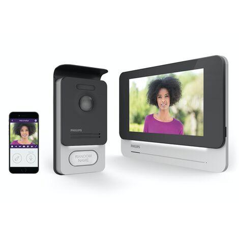 Vidéo Türsprechanlage 512168 Funk Interphone 1 maison familiale écran Tactile