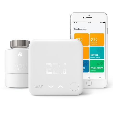 Thermostat Intelligent Kit de démarrage V3+ et une tête thermostatique intelligente