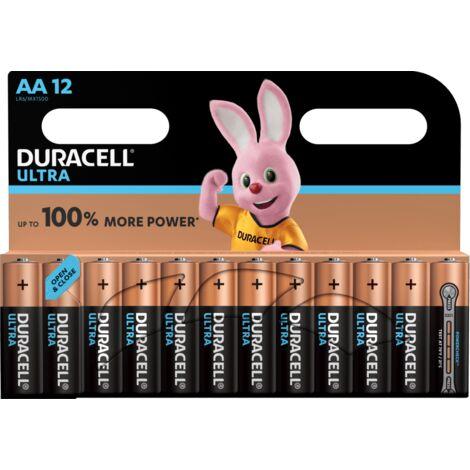 DURACELL BLISTER DE 12 PILES ALCALINES ULTRA POWER TYPE AA 1.5V (LR06)