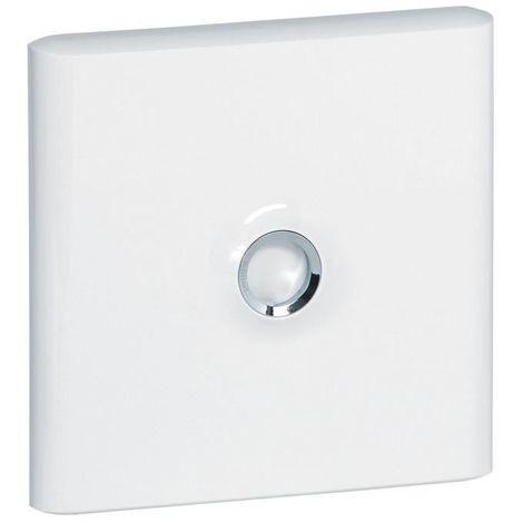 Porte pour coffret 1 rangée 13 modules - blanche