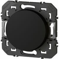 Interrupteur ou va-et-vient - Dooxie - 10A - 250V - Noir - Legrand