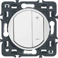 Interrupteur variateur Céliane - 300W - Blanc