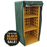 2 in 1 Firewood & Wellie Storage Rack