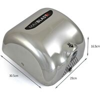MAXBLAST Automatic Commercial Hand Dryer