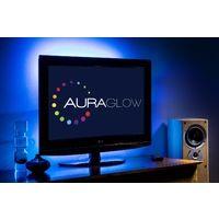 Auraglow Colour Changing 50cm 5v LED Strip USB TV Back Light Lighting Kit