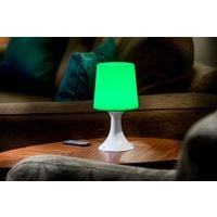 Auraglow Remote Control Colour Changing LED Mood Light Wireless Battery Operated Bedside Table Desk Lamp