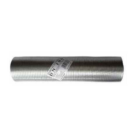 tuyau échappement aluminium NATUREL 60mm extensible 1 à 3mt