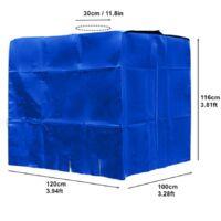 Bâche bleue Anti-UV pour cuve 1000 litres