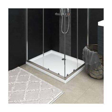 Receveur de douche resine blanc 70 x 90 cm