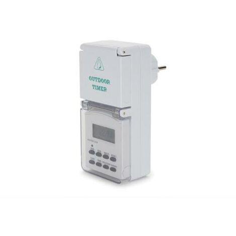 Minuteur programmateur pour usage extérieur - 3500W