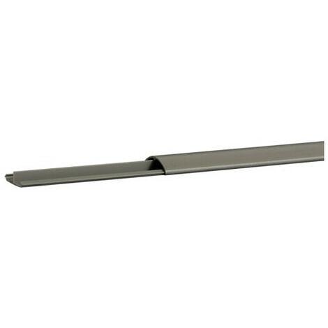 Goulotte de sol PVC 10x35 grise (AK35100)