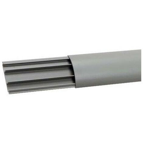 Goulotte de sol PVC 12x50 grise (AK50120)