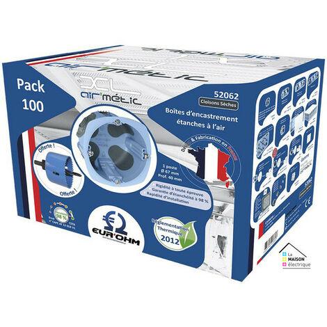Pack de 100 boîtes XL AIR'métic d67 p40mm (52062)