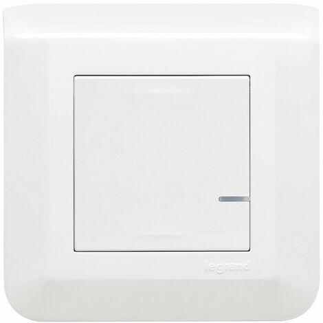 Prêt-à-poser créer un va-et-vient sans tirer de fil new Mosaic 1 interrupteur et 1 commande sans fil complet blanc (077732L)