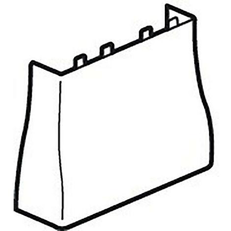 Cornet d'épanouissement pour GTL universelle Viadis 355x65mm pour tableau 18 modules blanc Artic (16722)