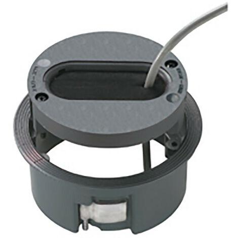 Passe-câble gris anthracite diamètre 125mm pour vertèbre Logix (47301)