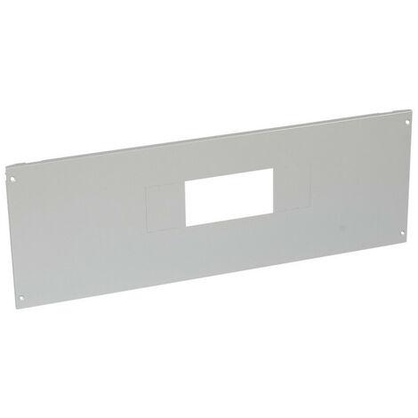 Plastron métal XL34000 et XL3800 à vis pour 1 DPX IS630 en position verticale hauteur 300mm 36 modules (020957)