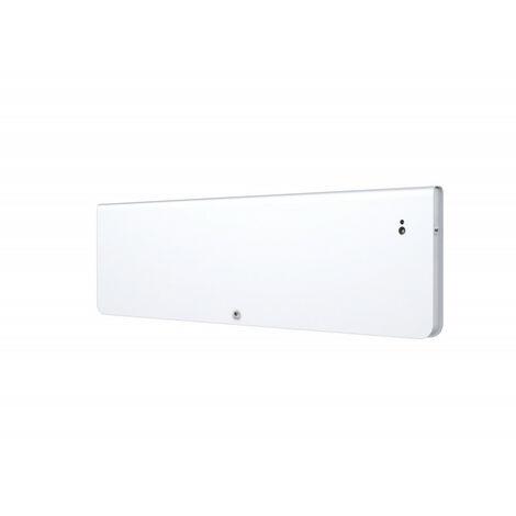 Radiateur Chaleur douce Equateur 4 plinthe blanc granit 1500W (427242)