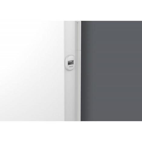 Radiateur Chaleur douce Equateur 4 vertical blanc granit 1000W (427237)