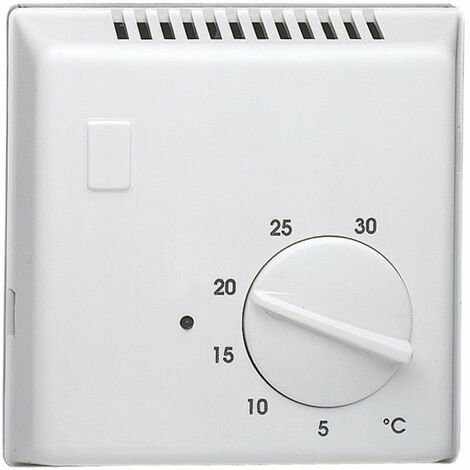 Thermostat ambiance bi-métal chauf eau ch avec contact inverseur + voyant 230V (25620)
