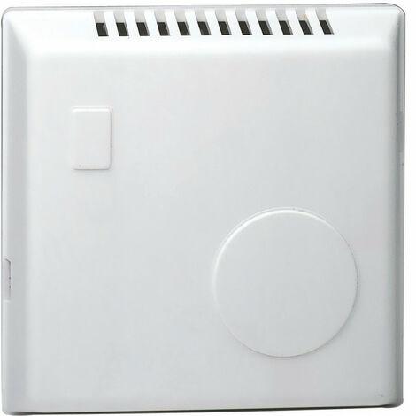 Thermostat ambiance bi-métal chauf eau ch avec contact inv réglage caché 230V (25805)