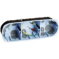 Boites Eurohm faradisées - Boite AIR'metic faradisée 2 postes d67 40mm (52089)