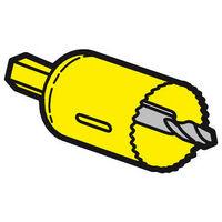 Scie cloche diamètre 40mm pour boite applique Batibox cloisons sèches référence 089346 (089349)