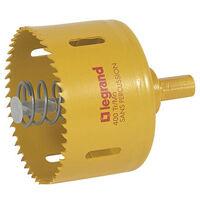 Scie cloche diamètre 85mm pour boîte Batibox prise 20A ou 32A cloisons sèches (089368)