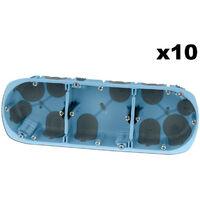 Lot 10 Boîtes triples XL AIR'métic d67 p40 entraxe 71 (52066)