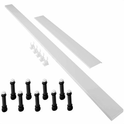 Mira Flight Low 'Easy Plumb' Shower Tray Riser Kit 900mm White 1.1697.030.WH