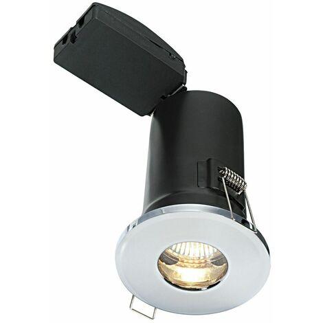 Bathroom Origins Shield Plus Downlight Bathroom Light Chrome IP65 Push Fit