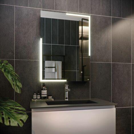 RAK Citrine LED Bathroom Mirror Demister Anti-fog Shaver Socket IP44 800 x 600mm