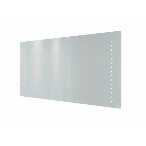 RAK Hestia LED Bathroom Mirror Demister Anti-Fog Shaver Socket IP44 600 x 1200mm