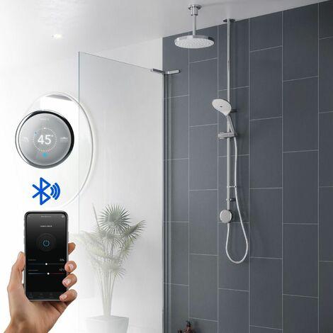 Mira Activate Digital Shower Dual Outlet Head Bathroom High Pressure Combi HP