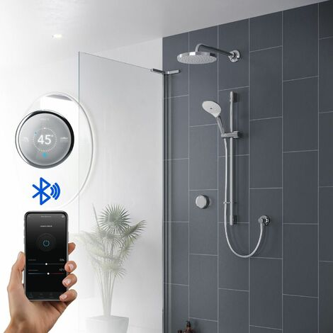 Mira Activate Digital Shower Twin Outlet Head Bathroom High Pressure Combi Rear