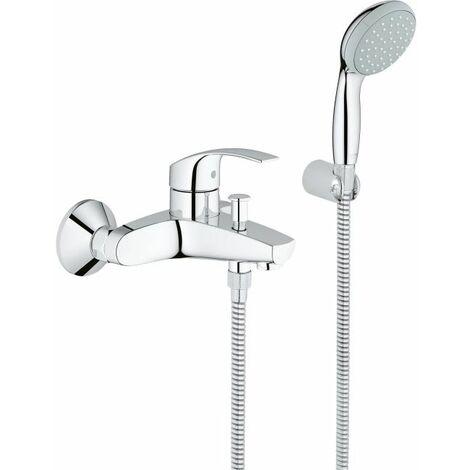 Grohe Eurosmart Bath Mixer Tap with Shower Set