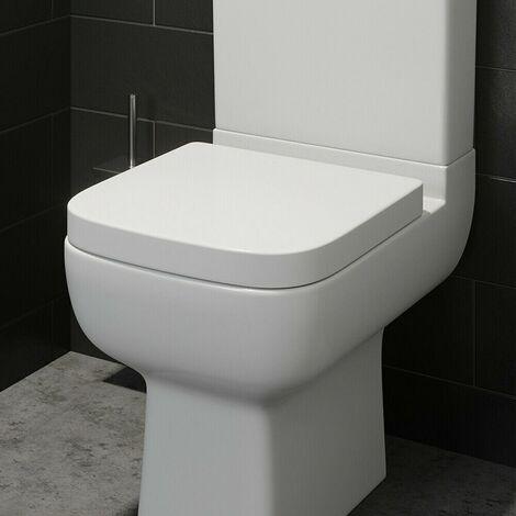 Affine Amelie Soft Close Square Toilet Seat