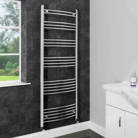 Duratherm Heated Towel Rail 1600 x 600mm Curved