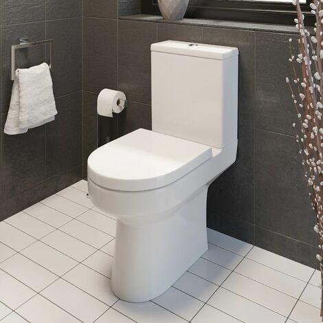 Ceramica Tivoli Close Coupled Toilet & Soft Close Seat