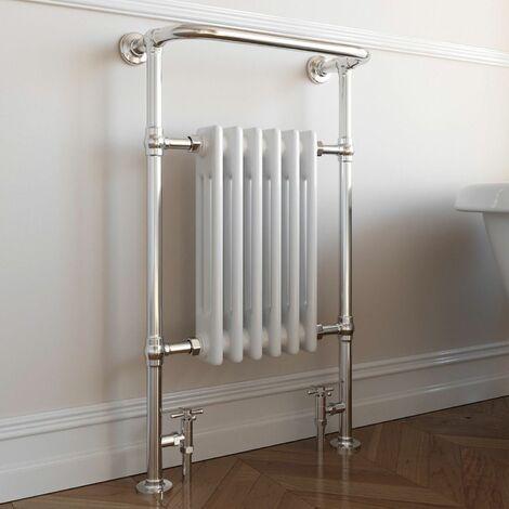 DuraTherm Traditional Heated Towel Radiator - 952mm x 568mm