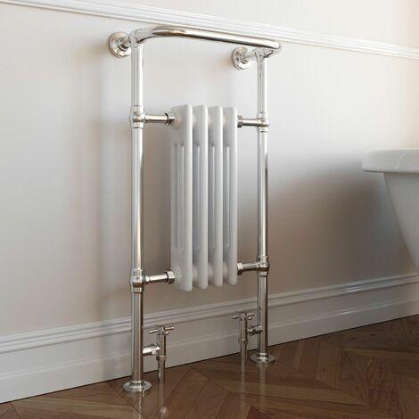 DuraTherm Traditional Heated Towel Radiator - 952mm x 479mm