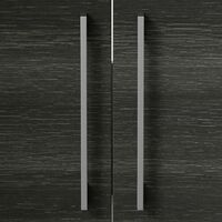 600mm Bathroom Vanity Unit Basin Cabinet Unit Modern Charcoal Grey